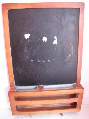 Ένας μαυροπίνακας που έγινε πίνακας σημειώσεων
