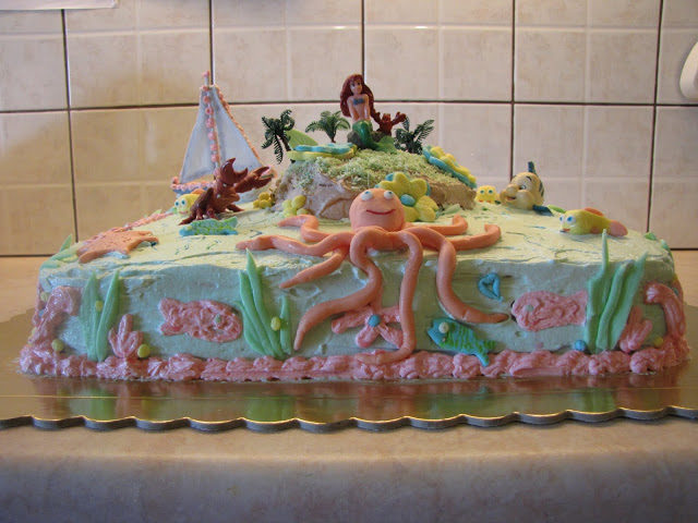 Φτιάξε μόνος σου εντυπωσιακή τούρτα με θέμα ο βυθός της θάλασσας
