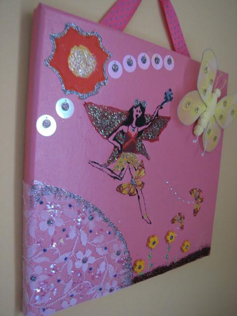 καδράκια με νεράιδες για κοριτσίστικο δωμάτιο