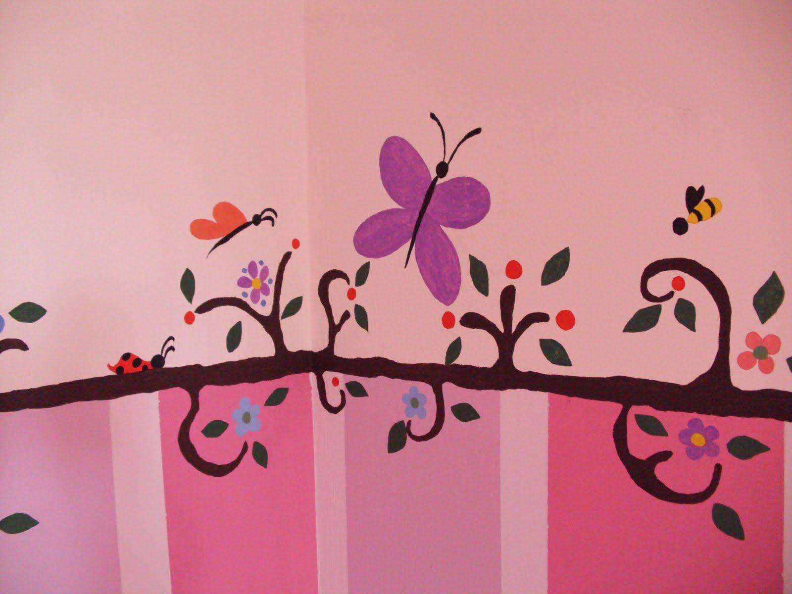 Ζωγραφική στον τοίχο του παιδικού δωματίου