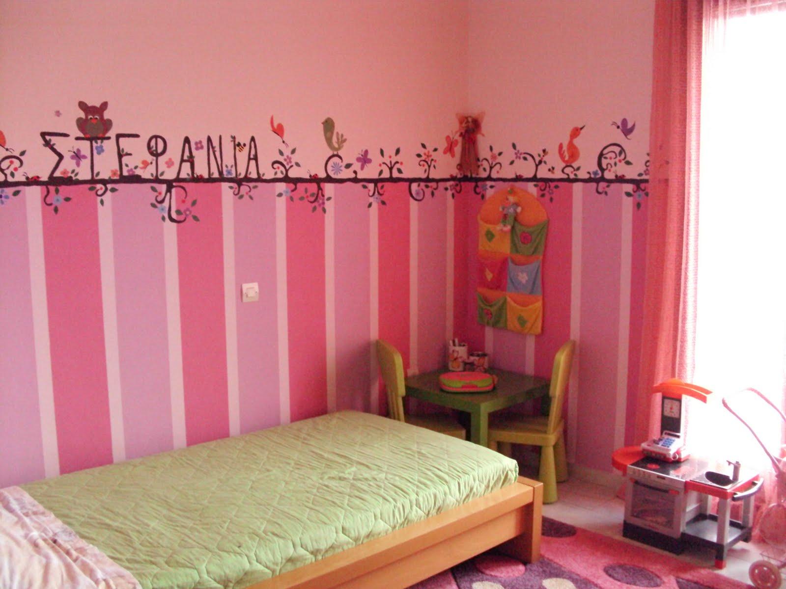 Ζωγραφική για παιδικό δωμάτιο.