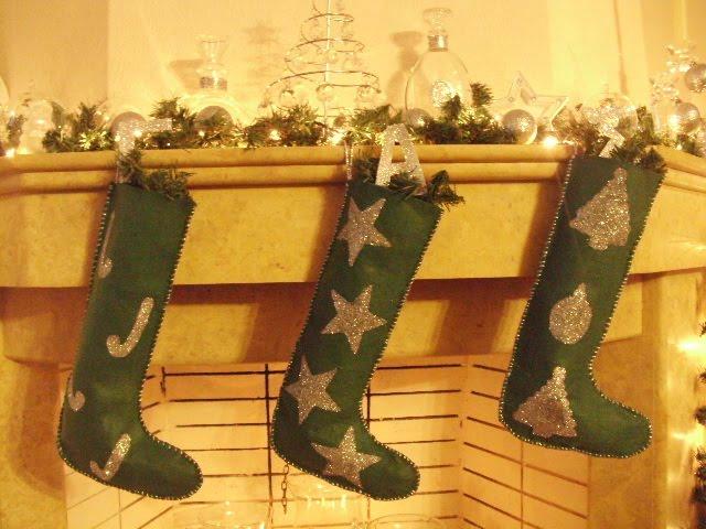Χριστουγεννιάτικες μπότες από τσόχα και πως να τις φτιάξεις