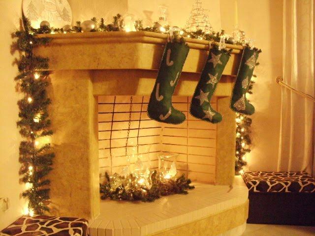 Φτιάξτε χριστουγεννιάτικες μπότες και γυάλες με γκλίτερ