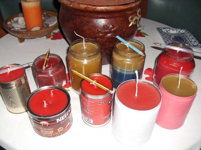 Πως να φτιάξουμε μόνοι μας χριστουγεννιάτικα κεριά
