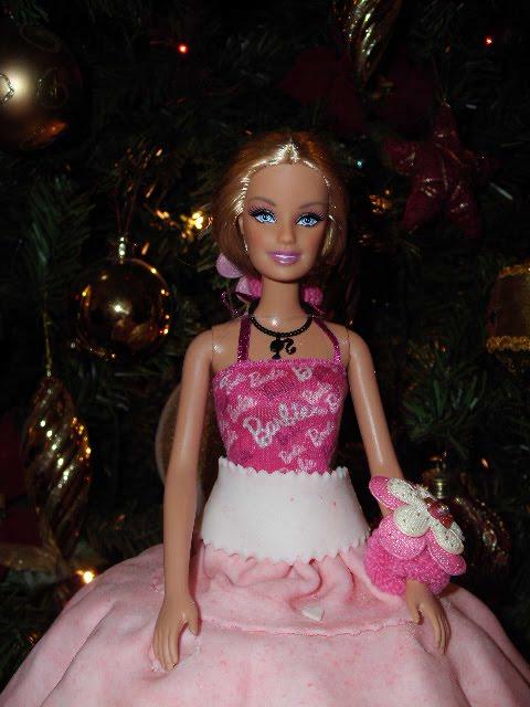 Τούρτα γενεθλίων κούκλα barbie