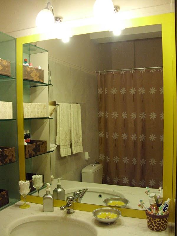 Ανανέωση και διακόσμηση στον καθρέφτη του μπάνιου.