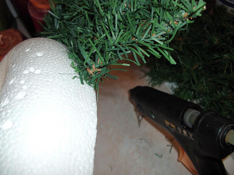 Φτιάχνουμε χριστουγεννιάτικο στεφάνι