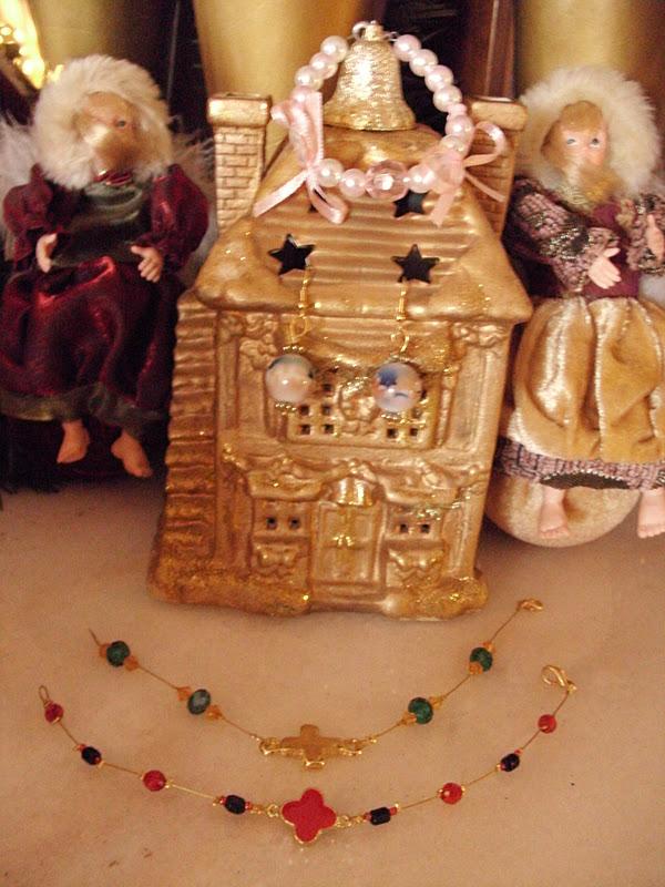 Ιδέες για χειροποίητα χριστουγεννιάτικα δώρα κοσμήματα