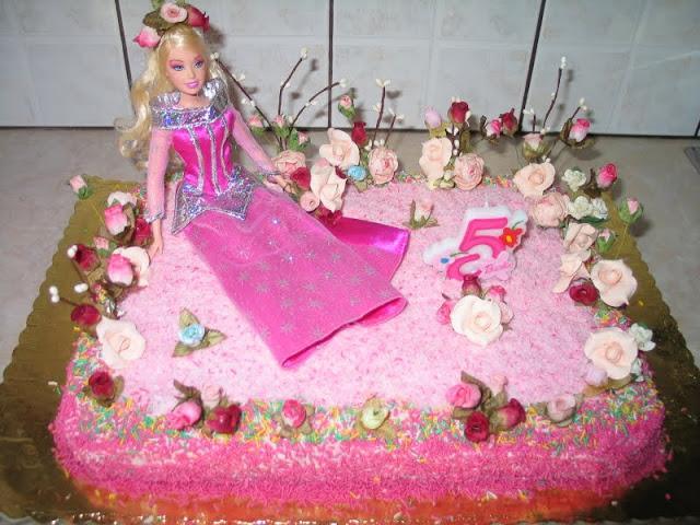 Τούρτα γενεθλίων Barbie.