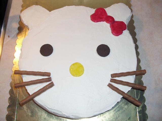 τούρτα γενεθλίων hello kitty