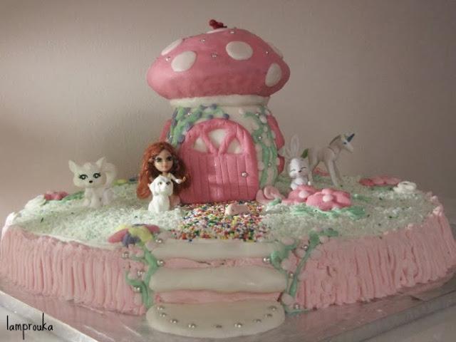 τούρτα γενεθλίων μανιτάρι