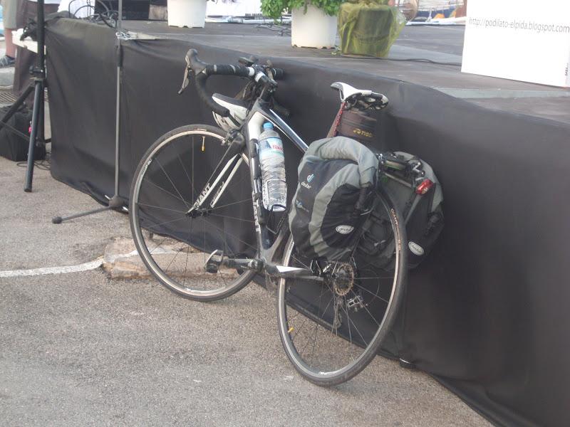 Ο ποδηλάτης της Ελπίδας