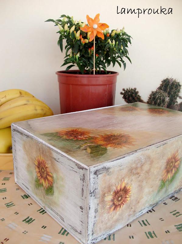 Μεταμόρφωση ξύλινου κουτιού.