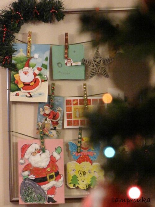Κατασκευή για τις χριστουγεννιάτικες κάρτες