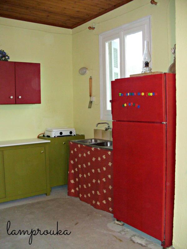 Ολική ανακαίνιση κουζίνας εξοχικού σπιτιού