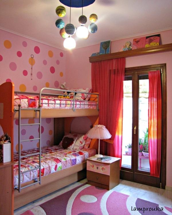 Κουρτίνες και παπλώματα στο παιδικό δωμάτιο