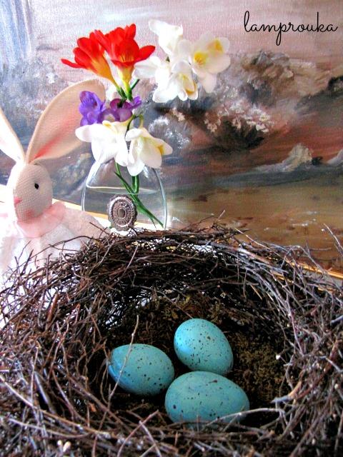 Πως να φτιάξεις φωλιά και πιτσιλωτά αυγά