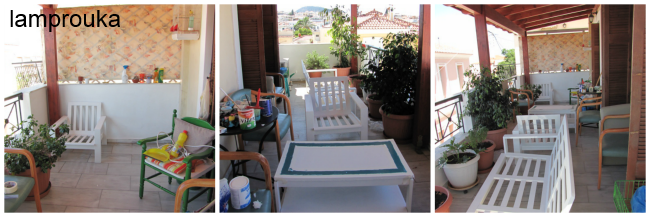 Έτσι ήταν πριν την μεταμόρφωση το μπαλκόνι μου.
