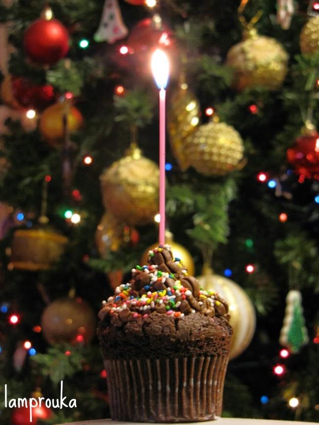 Cupcakes με πλούσια σοκολατένια γεύση