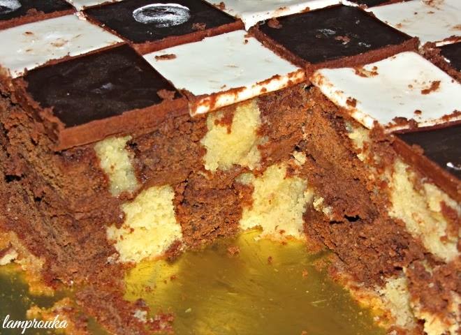 Το εσωτερικό της τούρτας