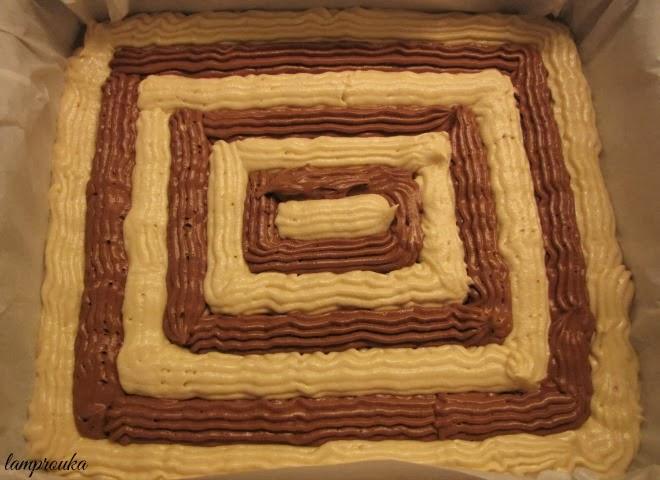 Πως να φτιάξεις τούρτα με παντεσπάνια σε δύο γεύσεις