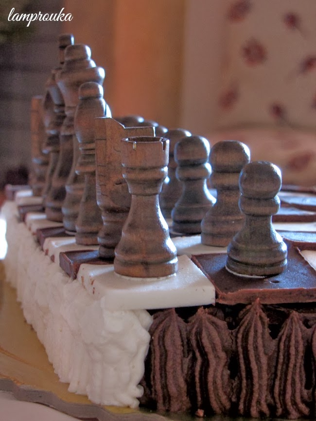τούρτα σκάκι