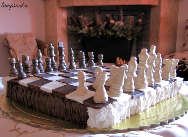 Πως να φτιάξεις μια εντυπωσιακή τούρτα σκάκι