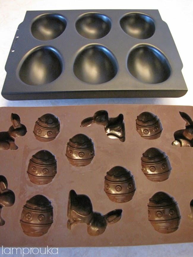Φόρμα σιλικόνης για πασχαλινά αυγά.
