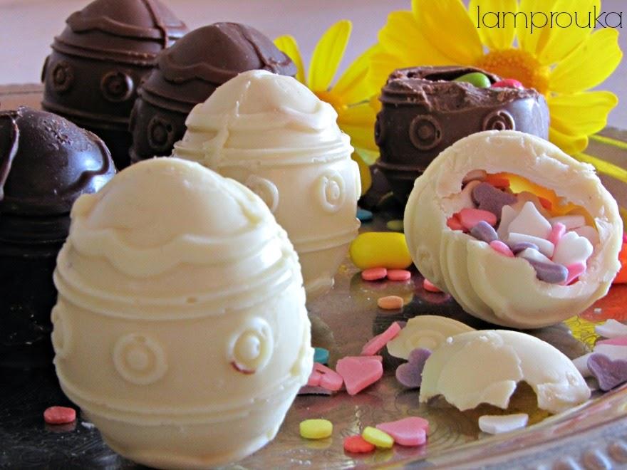 Φτιάξε μόνος σου σοκολατένια αυγά