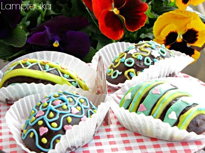 Συνταγή για σοκολατένια πασχαλινά κεκάκια