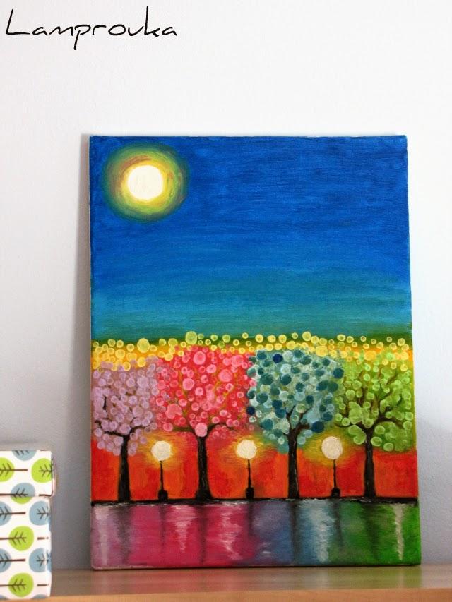 Ζωγραφική σε πίνακα