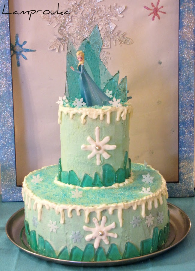 Φτιάξε μόνη σου μια καταπληκτική τούρτα frozen.