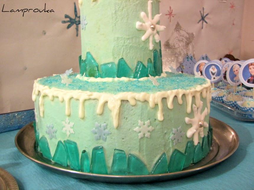 Φτιάξε τούρτα frozen.Συνταγές και οδηγίες για διακόσμηση.