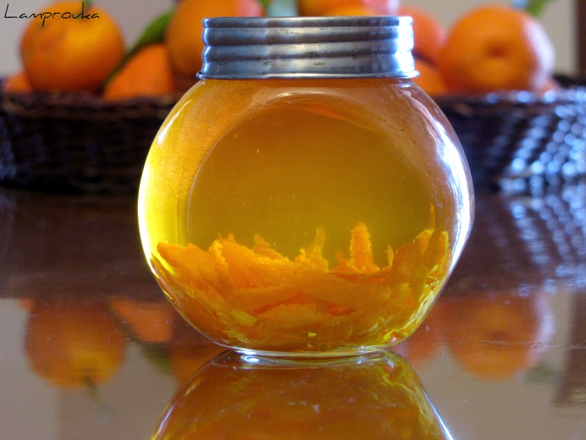 Χειροποίητο αρωματικό με πορτοκάλι
