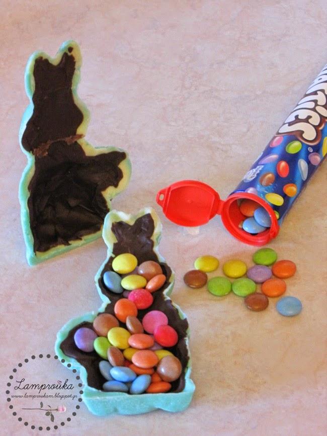 Φτιάχνουμε μόνοι μας σοκολατένια κουνέλια για το Πάσχα