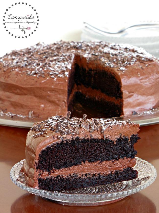 Σούπερ σοκολατένια τούρτα