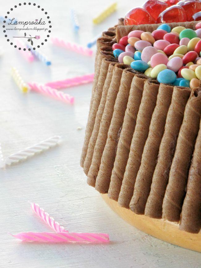 εύκολη τούρτα για αγόρια και κορίτσια