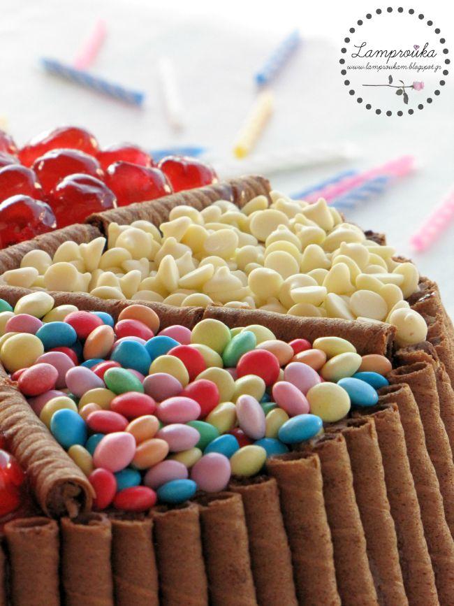 τούρτα candy