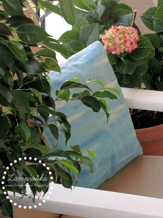 Πως να κάνεις ζωγραφική σε μαξιλάρια με ακρυλικά χρώματα