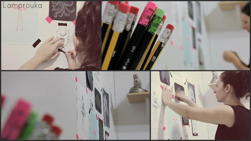 Διακόσμηση παιδικού δωματίου με ζωγραφιές του παιδιού