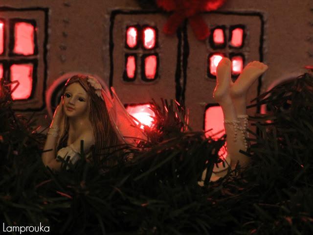 Χριστουγεννιάτικη διακόσμηση.