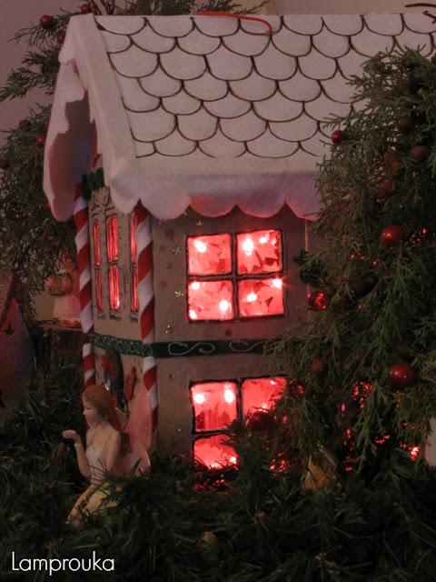 Κατασκευή χριστουγεννιάτικης πινιάτας με φωτισμό