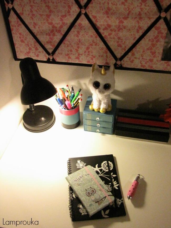 Παιδικό υπνοδωμάτιο, ο φωτισμός του γραφείου