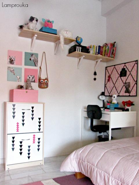 Παιδικό υπνοδωμάτιο ανανέωση και διακόσμηση οικονομική