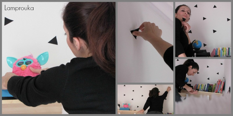 Πως να διακοσμήσεις τον τοίχο με αυτοκόλλητη ταινία
