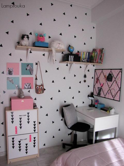 Μίνιμαλ διακόσμηση παιδικού δωματίου