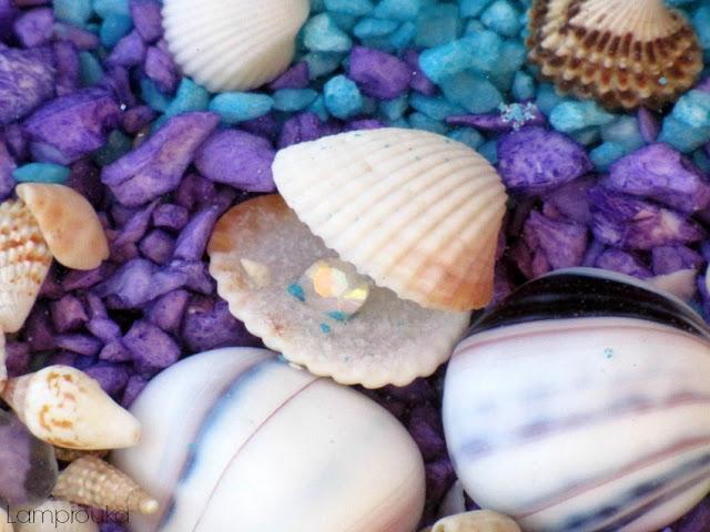 Ο βυθός της θάλασσας σε μια γυάλα.