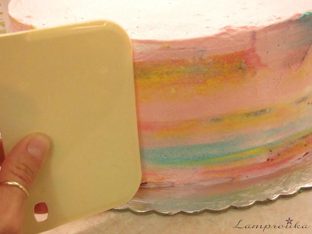 Κρέμα βουτυρου σε τούρτα