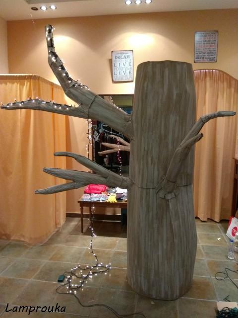 Πώς να φτιάξεις ένα μεγάλο χριστουγεννιάτικο δέντρο.