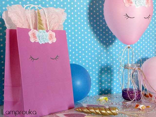 Ιδέες διακόσμησης για πάρτι Μονόκερος-Unicorn